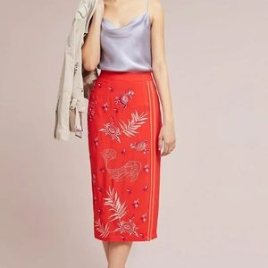 Anthropologie BL-NK London Skirt